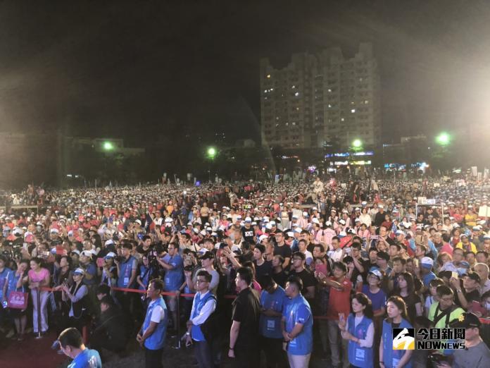 六都合體萬人挺燕 決戰中台灣