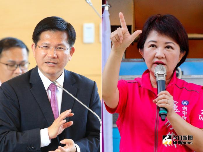 台灣世代智庫15日公布最新民調,現任台中市長林佳龍以41.4%支持率大勝國民黨台中市長參選人盧秀燕的31.1%。(圖/NOWnews資料照)