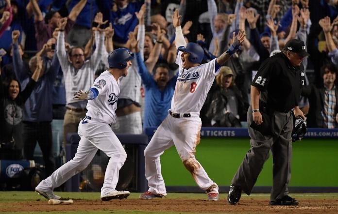 MLB/貝林傑關鍵轟!道奇搶七逆轉勇士 3連勝進世界大賽