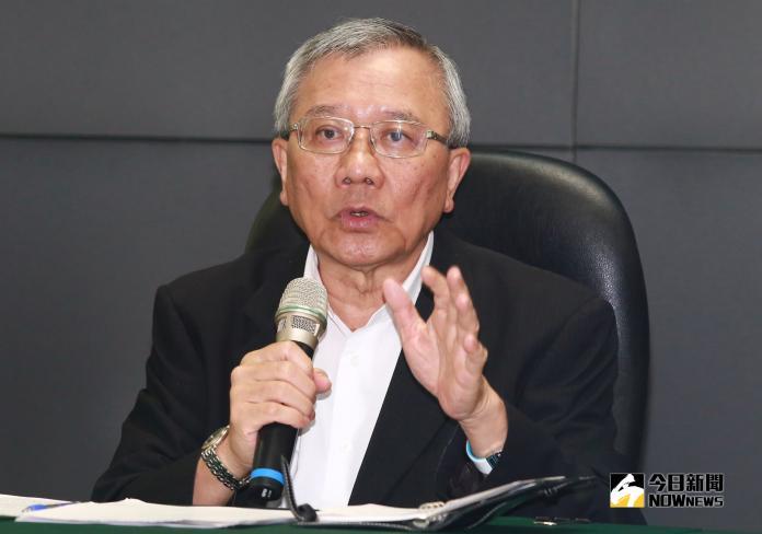 台灣中油公司董事長戴謙。(圖 / 記者葉政勳攝,2018.10.21)
