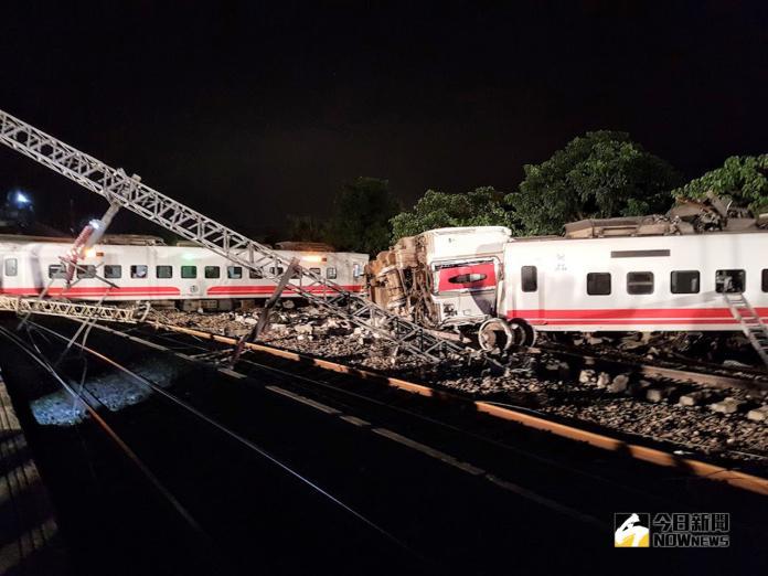 台鐵6432次普悠瑪列車出軌翻覆