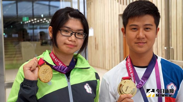 世大運/中華隊獎牌開張 射擊林穎欣奪銅、女團摘銀