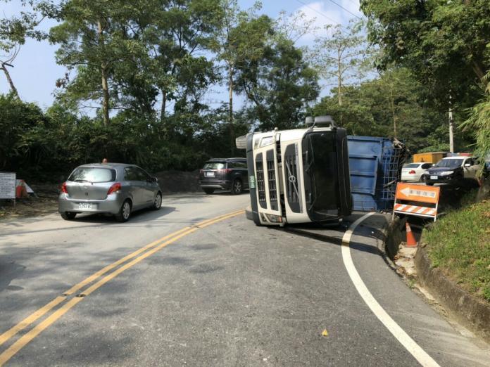 阿里山公路車禍 13時可恢復雙向通行