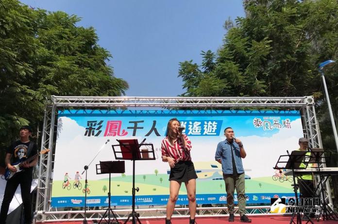 ▲藍色狂想樂團精彩演出。(圖/記者許高祥攝,2018.10.28)