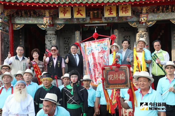 「草鞋公陣」與「金獅陣」獲市定傳統表演藝術證書及頭旗