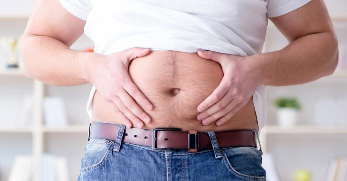 胖男肚子痛送醫 檢查後居然發現<b>臨盆</b>快當爸爸了