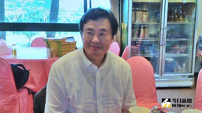 民進黨祕書長洪耀福。(圖 / 記者陳弘志攝,2018.10.31)