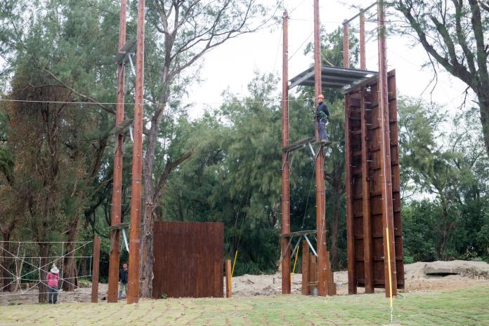 <b>桃園青年體驗學習園區</b> 超過31項高低空設施