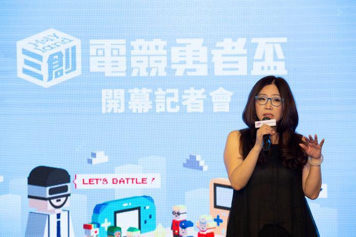▲中華一番電競產業發展協會理事長張惠美。(圖/官方提供)