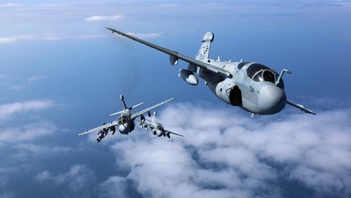 台海危機曾干擾共軍 美軍EA-6B電戰機中隊明年全數除役
