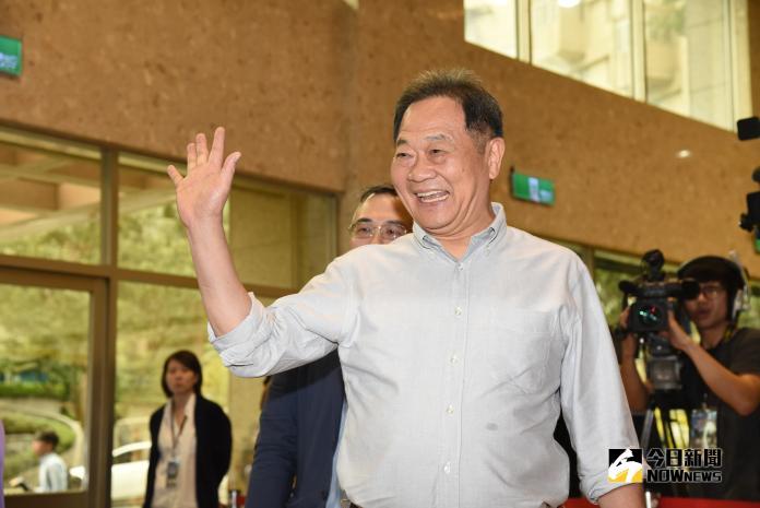 ▲李錫錕出席台北市長候選人辯論會。(圖/記者葉政勳攝 , 2018.11.10)