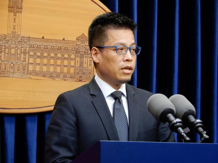 總統府發言人黃重諺。( 資料照 / 記者陳弘志攝)