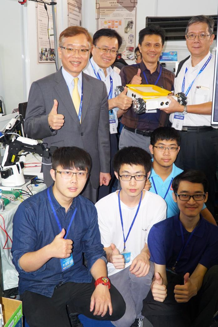 影/大葉大學獲教育部獎助 研發智慧製造系統