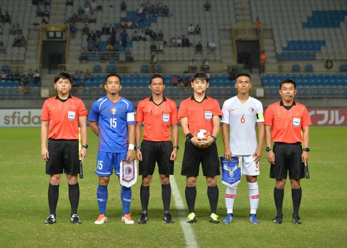 <b>東亞盃</b>/潘文傑屢救險球 中華隊仍不敵朝鮮