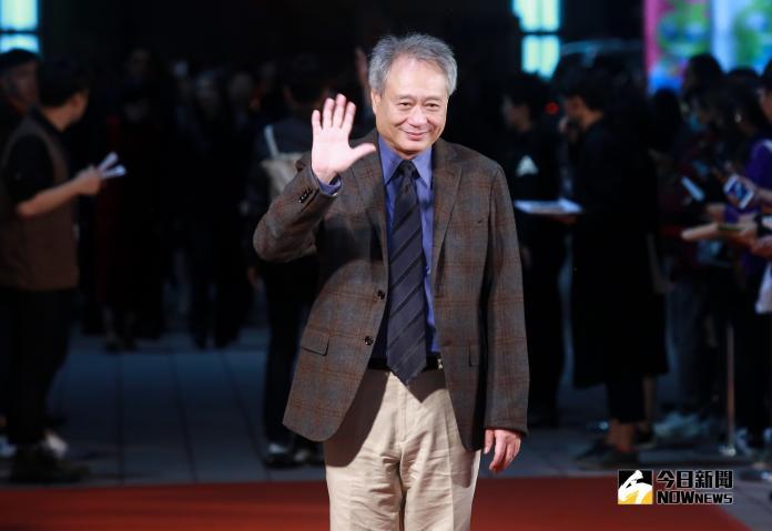 ▲金馬影展主席李安。(圖/記者葉政勳攝 , 2018.11.14
