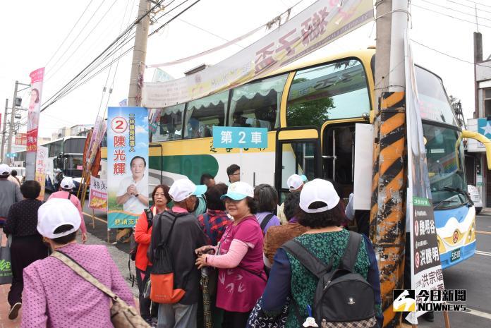 市區客運「15路」二林往溪頭公車首航