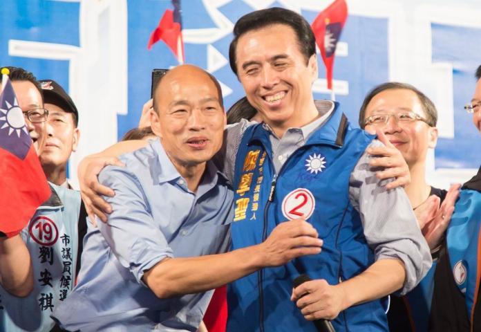 韓國瑜的4000萬疑雲意外掀起國民黨去年無法給候選人太多幫助,黨中央甚至一毛錢都沒給陳學聖。 (圖/資料照)