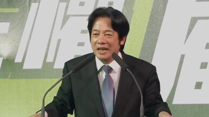 賴清德:民主台灣與專制中國 本來就是兩個國家