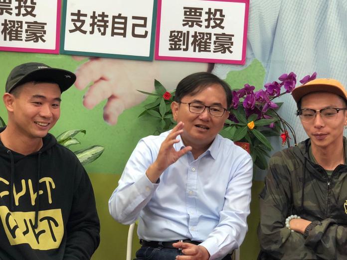 N2018112207劉櫂豪與年輕人座談