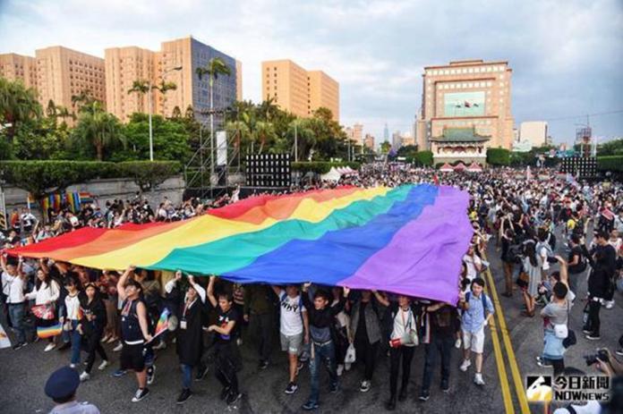 ▲5月24日同志婚姻即將上路。(圖/NOWnews資料照)