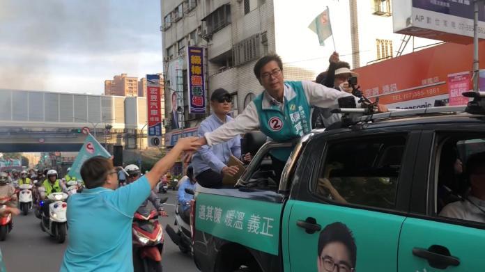 陳其邁車隊掃街20181123