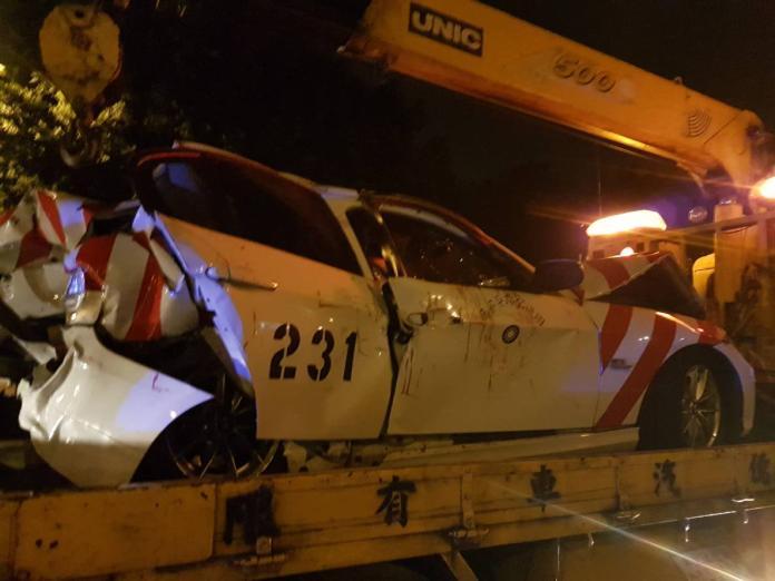 國道警察處理事故遭追撞 2員警受傷1危急