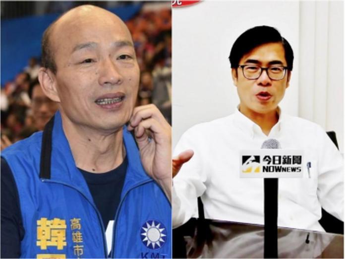 ▲陳、韓兩位候選人,激起高市選民一場難得一見理性感性之爭。(圖/NOWnews資料照)
