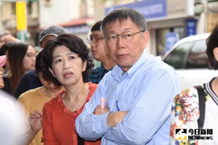 陳佩琪稱衛福部信件硬凹 柯文哲:我也不能叫她不能說話