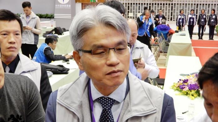 中選會主委陳英鈐。( 圖 / 記者陳弘志攝,2018.11.25 )