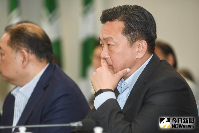 王定宇出席民進黨中常會。(圖/記者陳明安攝,2018.11.28)