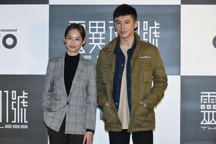 ▲簡嫚書、李國毅演出《靈異街11號》。(圖/記者林柏年攝,2018.11.28)