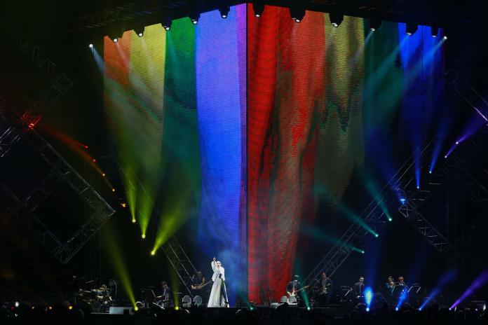 圖輯/徐佳瑩演唱會 望大家都能成為彩色的人