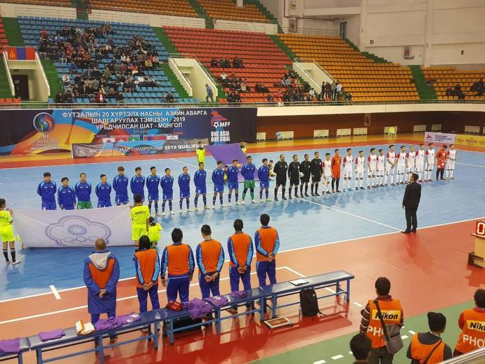 <br> ▲1日中華隊首場賽事3比1擊敗蒙古。(圖/中華足協提供)