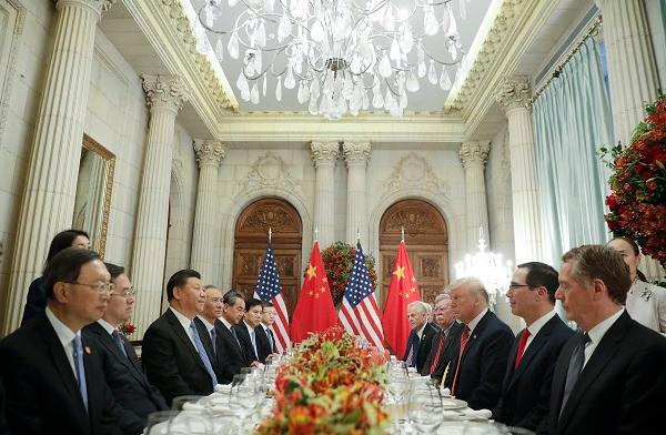 ▲即將在G20大阪峰會登場的「川習會」,有機會取得正面積極的進展。(圖/美聯社/達志影像)