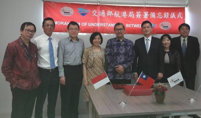 <b>交通部航港局</b>與印尼建國大學簽署合作備忘錄