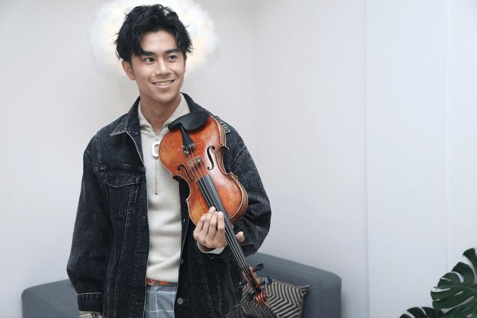 ▲廖柏雅找回對音樂的熱情。(圖/記者吳政璋攝, 2018.11.23)