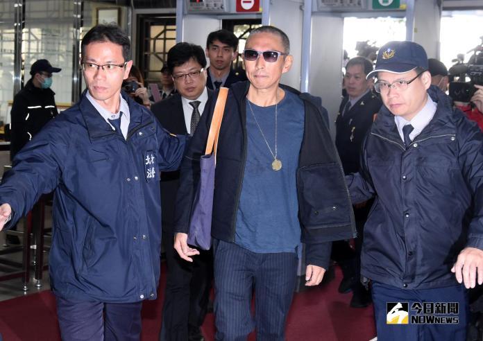 ▲鈕承澤赴北檢應訊。(圖/NOWnews攝影中心,2018.12.10)