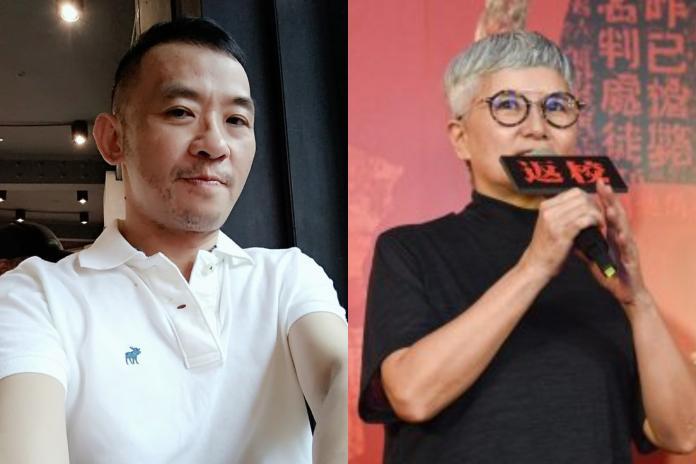 ▲陳俊志(左)生前曾指控製片人李烈霸凌他3年。(圖/翻攝臉書、資料照,  2018.12.11)