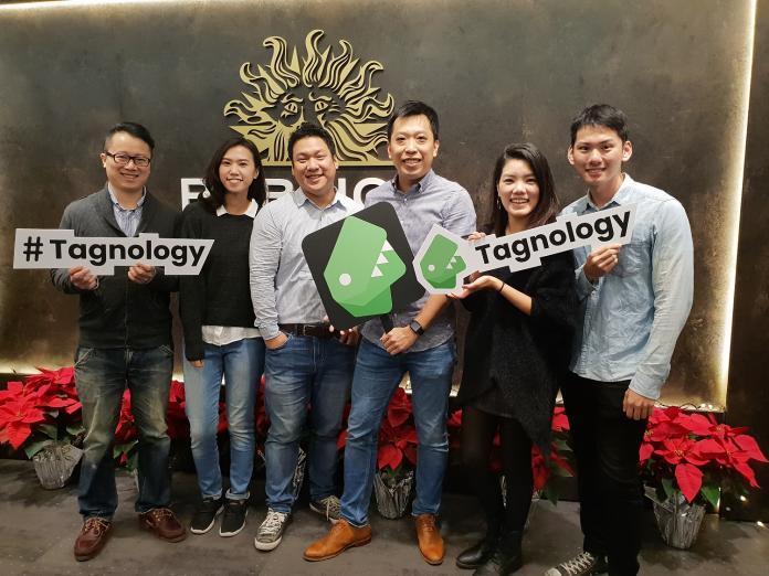 ▲陽獅媒體集團Business Transformation team與Tagnology新創夥伴共同組成的合作團隊。(圖/公關照片)