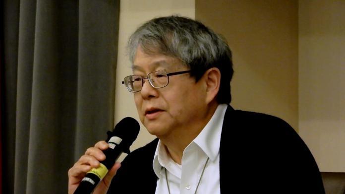 監察委員陳師孟。(圖 / 記者陳弘志攝,2018.12.12)