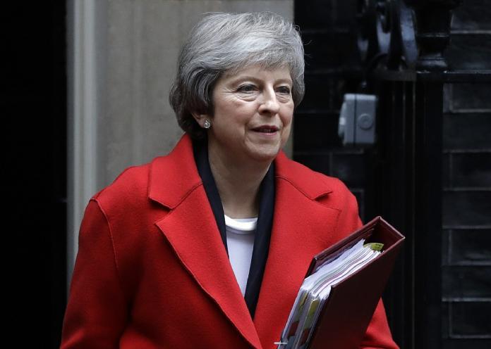 ▲英國保守黨 12 日發動不信任投票,梅伊將面臨逼宮危機。(圖/美聯社)