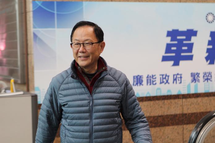 ▲國民黨台北市長候選人丁守中日前提出選舉無效之訴。(資料圖/記者葉滕騏攝,2018.12.13)