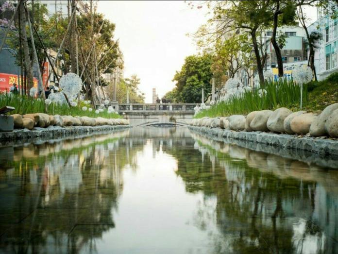 <b>台中綠川</b>整治成功  行政院列入標竿施政案例