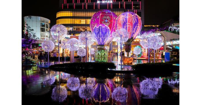 米蘭時尚熱氣球首次亮相!耶誕拍照熱點讓你一秒變網美