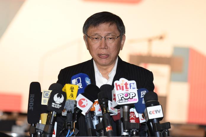 台北市長柯文哲認為,豬瘟還沒出現,所以防疫官員不一定熟悉。(資料照/NOWnews)