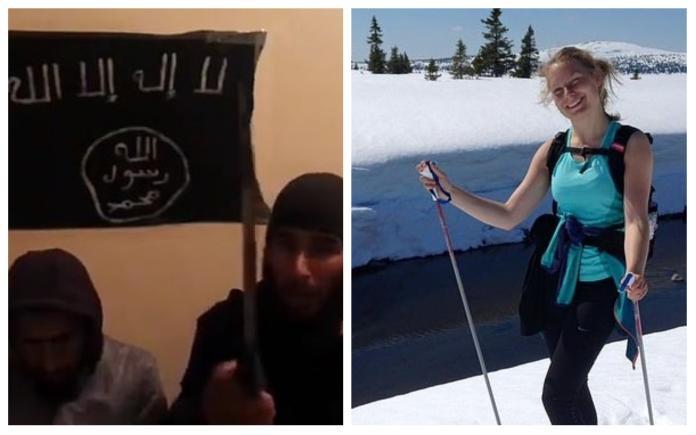 這是阿拉的旨意! 斬首北歐女遊客伊斯蘭國兇徒影片曝光