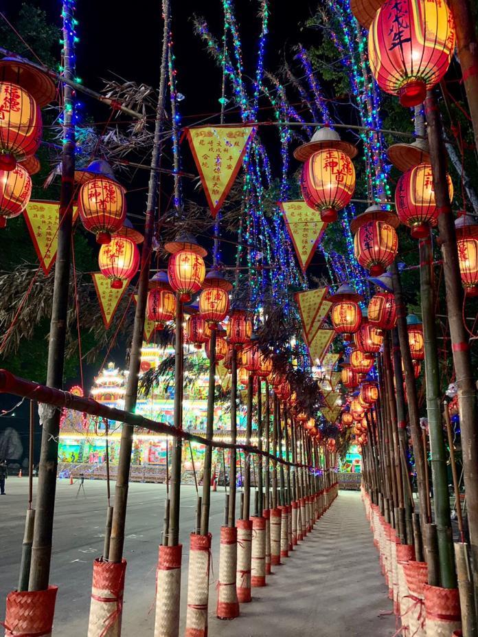 燈篙光廊成聖誕節打卡景點