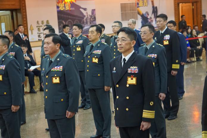 ▲隨著三軍軍官俱樂部歇業,國軍在此舉行將級人員晉升典禮成為歷史。(資料照/記者呂炯昌攝)