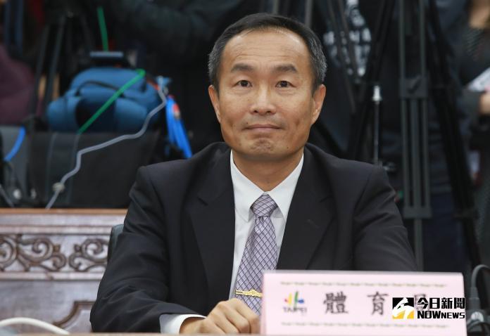 ▲台北市體育局局長李再立。(圖/記者葉政勳攝 , 2018.