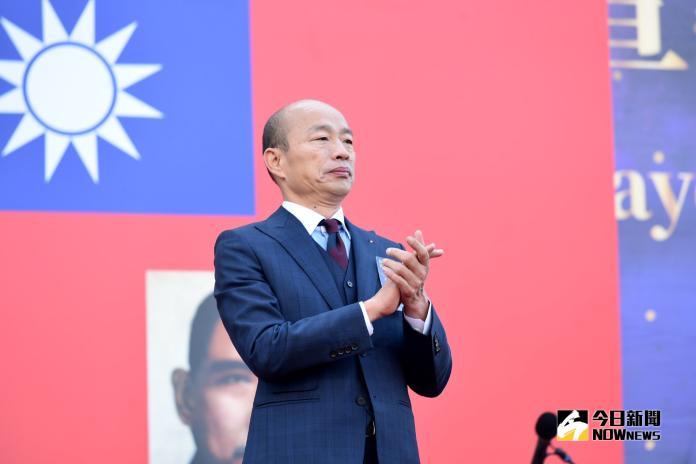 高雄市長韓國瑜就職。(圖/記者林柏年攝,2018.12.25)